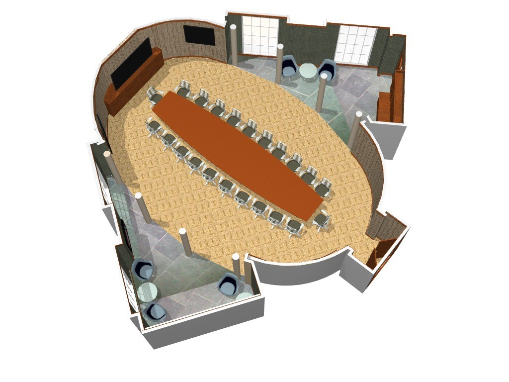Boardroom Corporate Interior Design