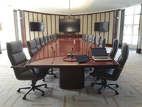 Corporate Boardroom Design