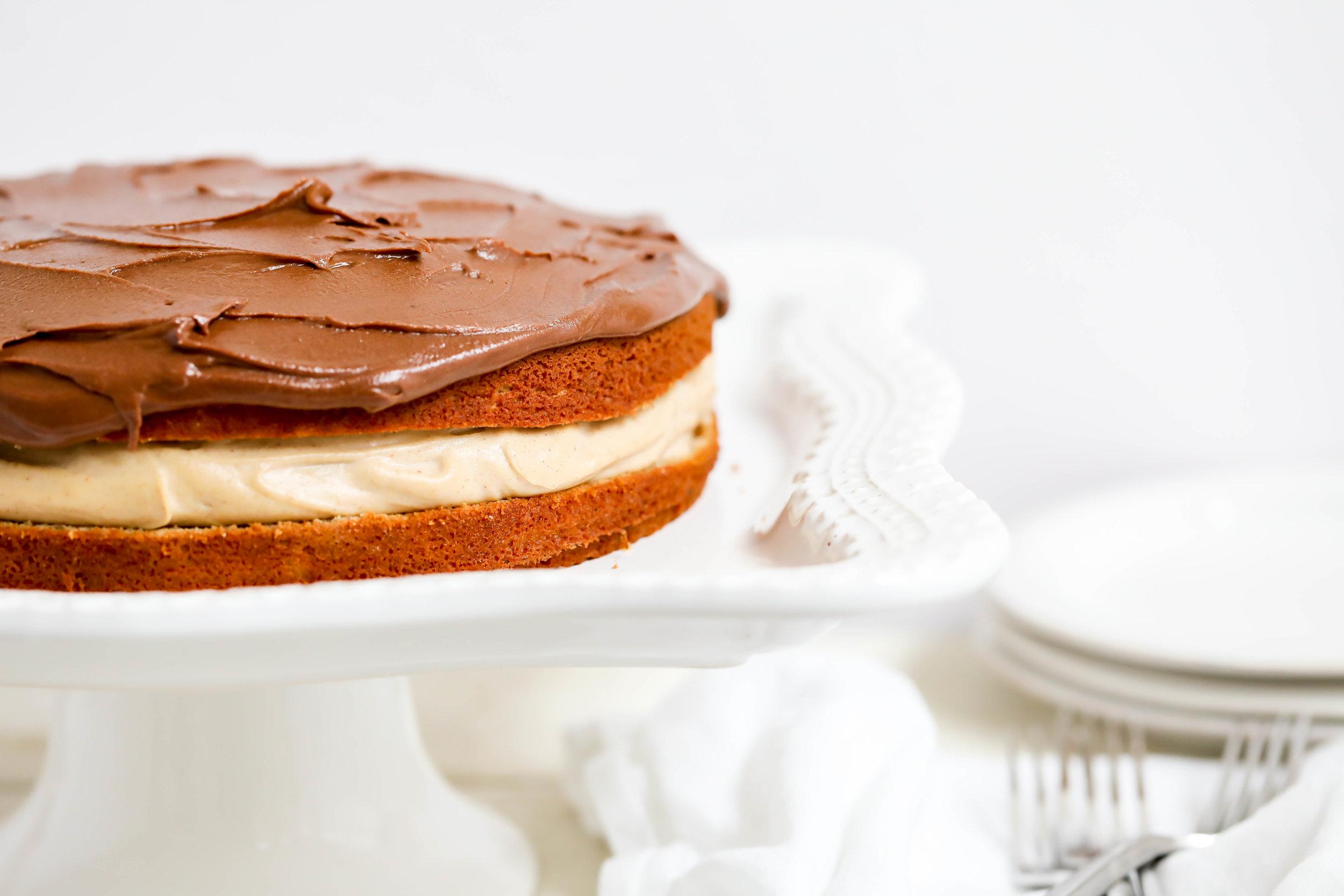 Healthified Boston Cream Pie