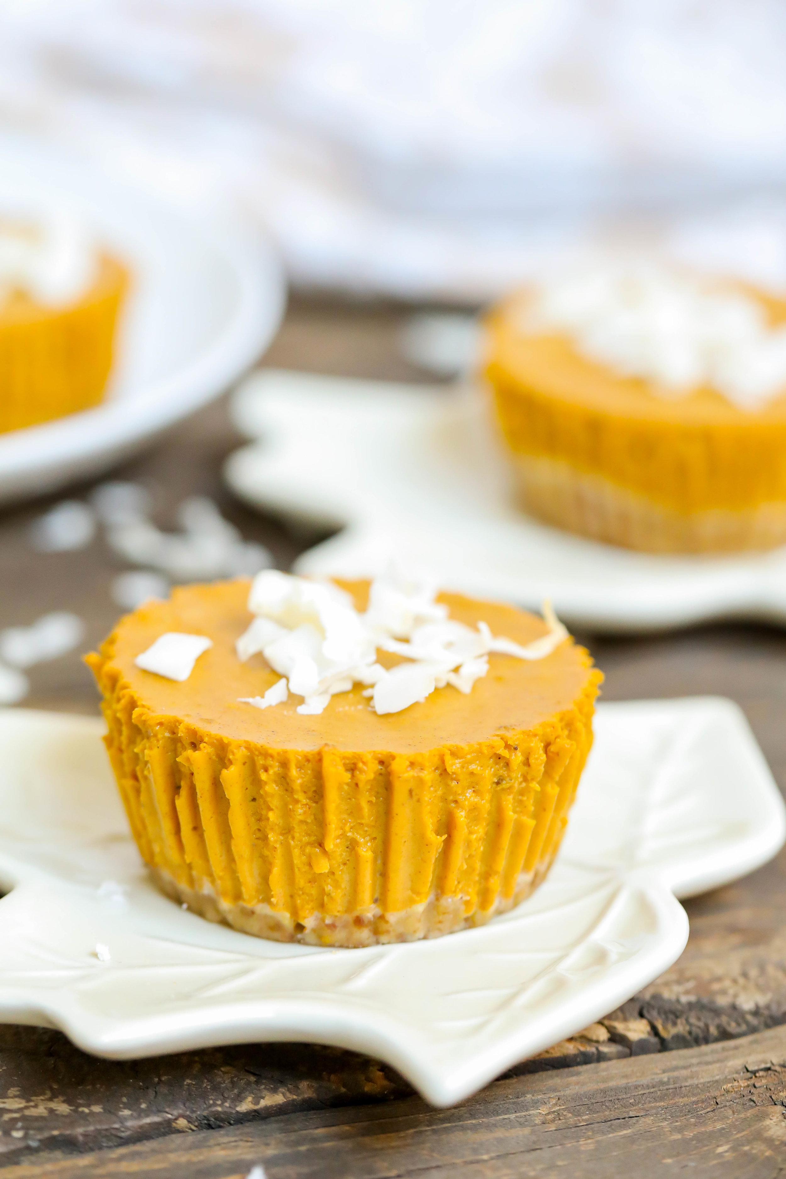 Delicious & Nutritious Mini Pumpkin Pies