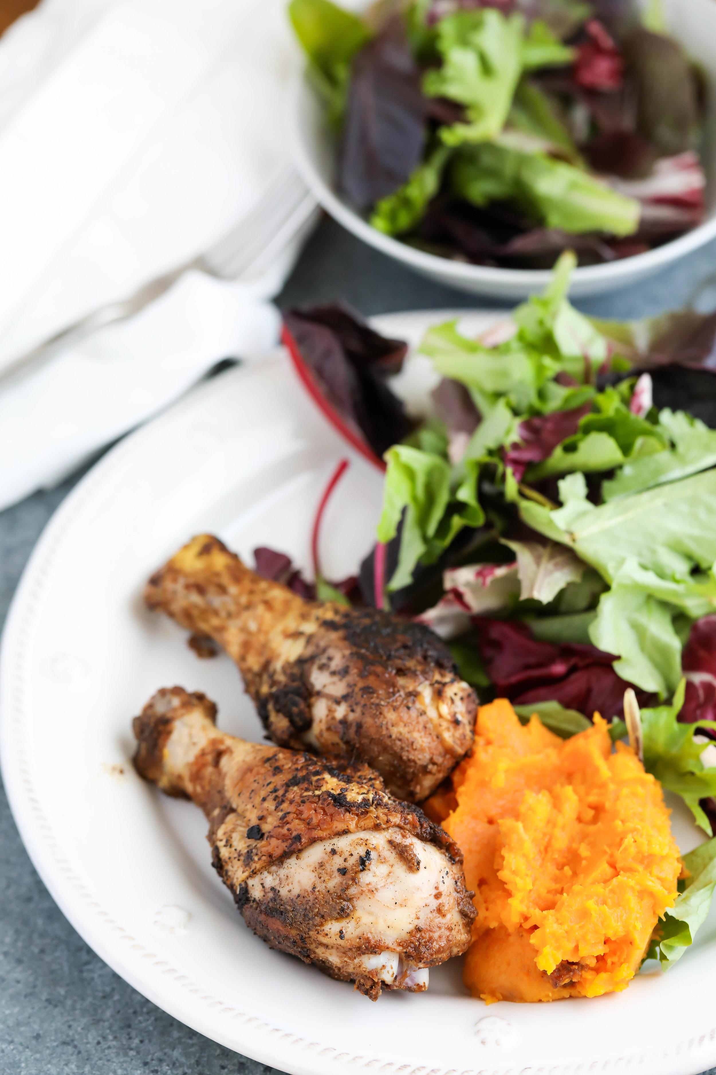 5-Spice Chicken with Butternut Mash