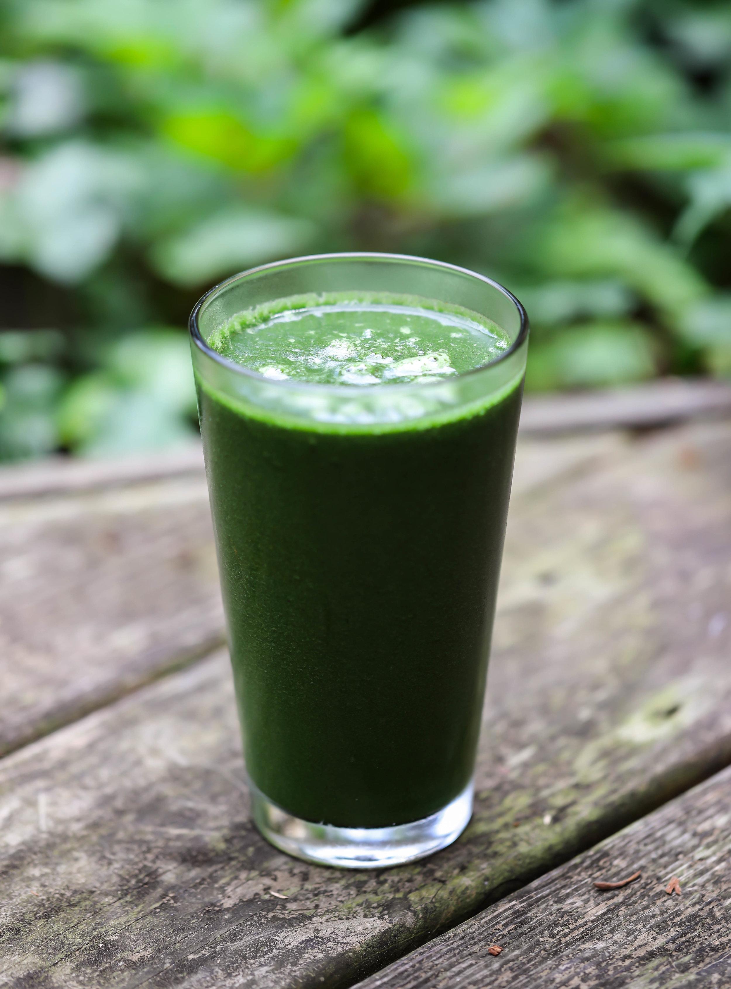 Fruitless Green Smoothie