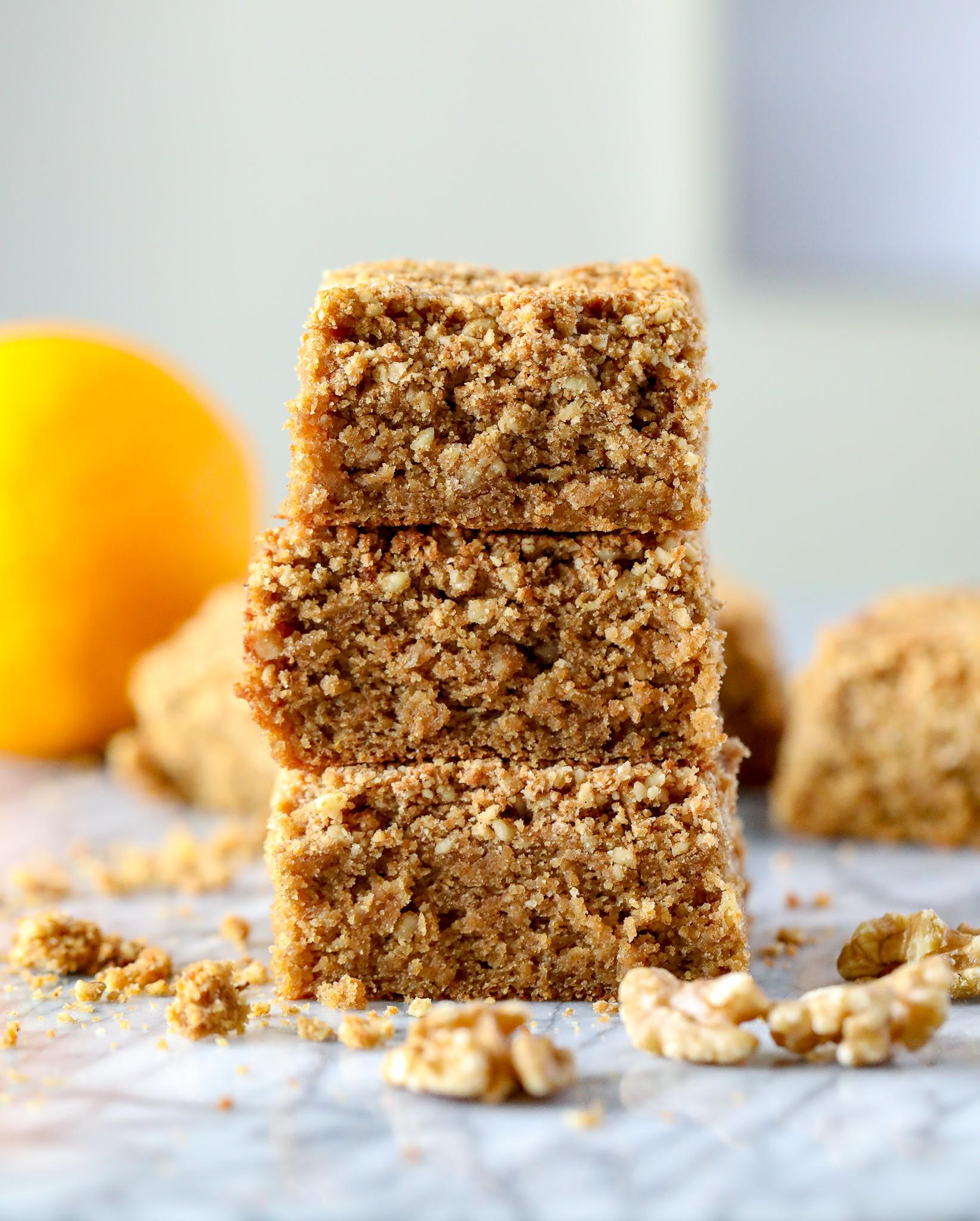 Grain-Free Good {Start} Morning Crumble Cake