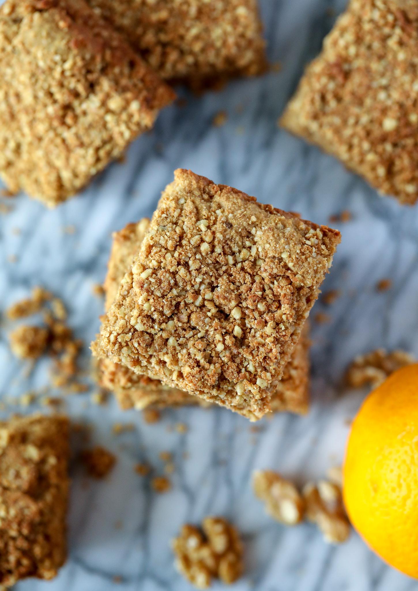 Grain free Good {Start} Morning Crumble Cake