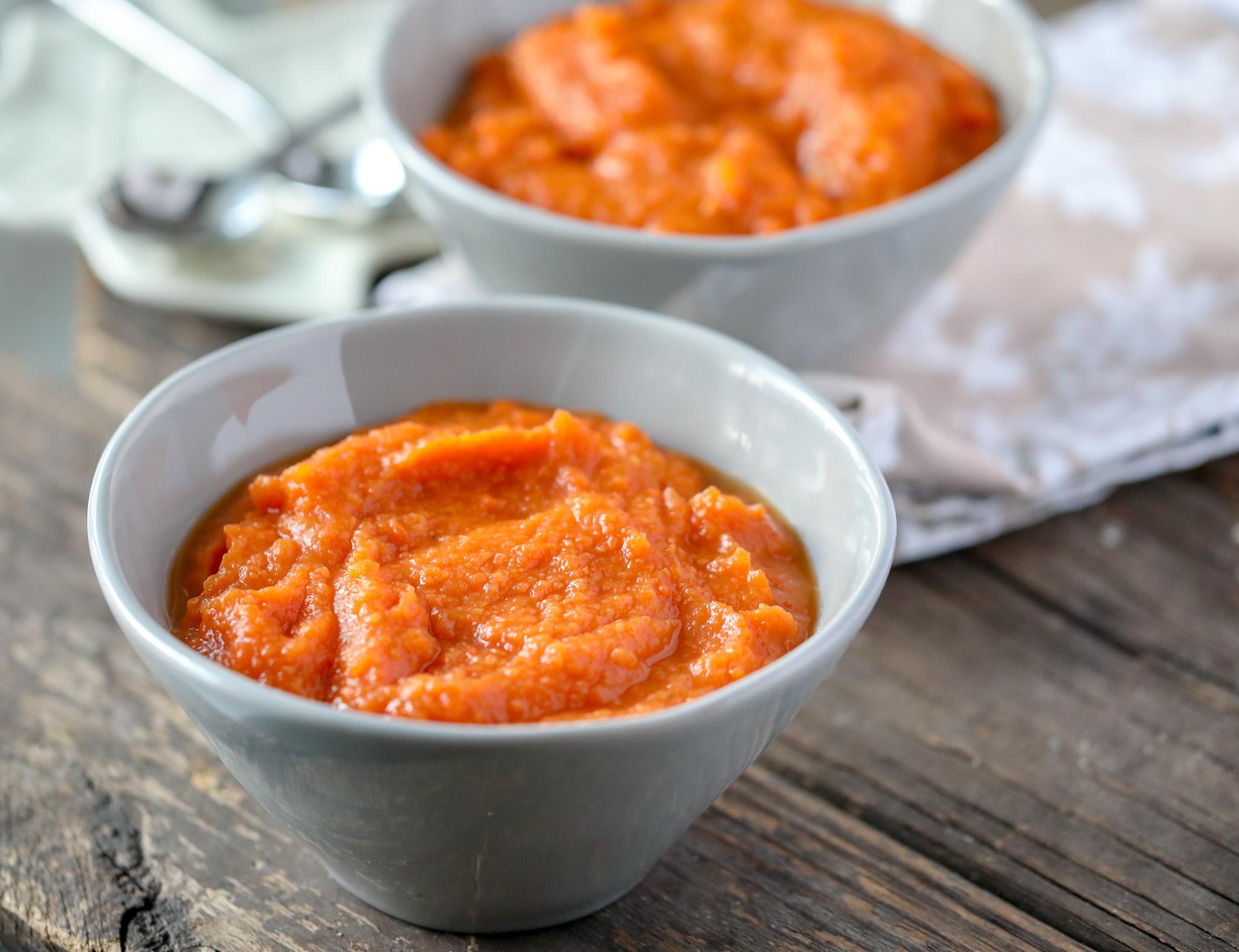 Sweet Potato Carrot & Ginger Soup