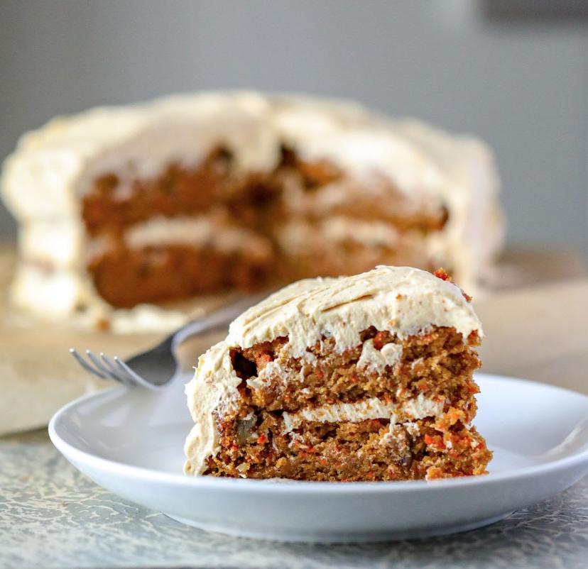 Healthy Gluten-free Vegan Carrot Cake