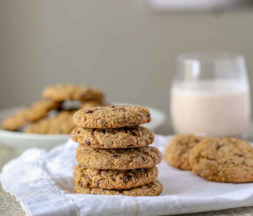 Healthy Gluten-free Vegan Chocolate Chip Cookies