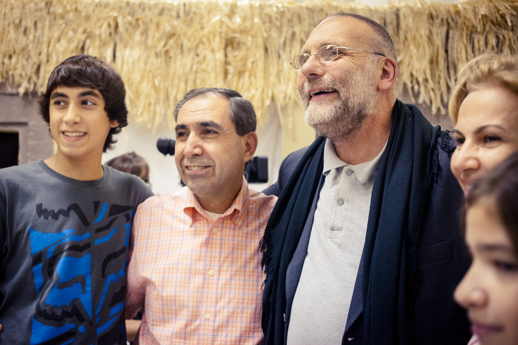 "In 2012 I attended an interfaith iftar in Washington, DC, where I met Father Paolo Dall'Oglio, a Jesuit priest who at the time was a peace activist in Syria; he spoke beautifully, saying, ""when I think of the Bible, I think in Arabic."" Sadly, he was kidnapped in Syria in 2013 and is presumed dead."