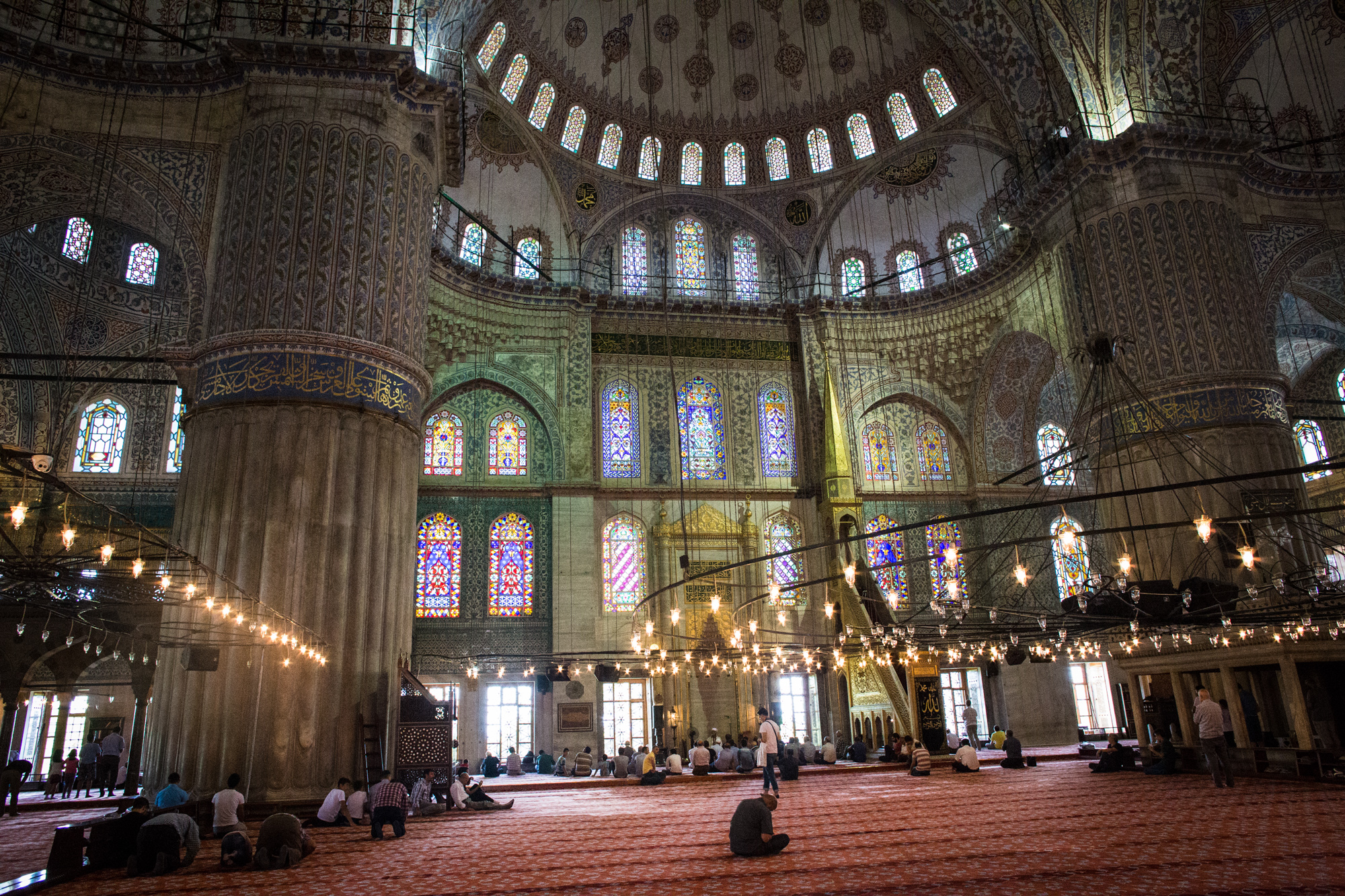 The Sultan Ahmet Mosque, Istanbul, Turkey, 2016
