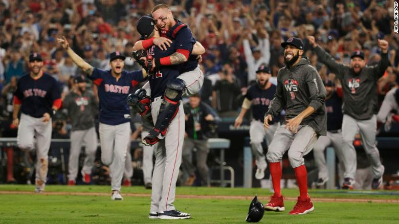 The Boston Red Sox, your 2018 WS Champs! (via edition.cnn.com)
