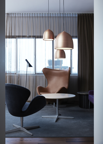 Egg Chair and Swan Chair