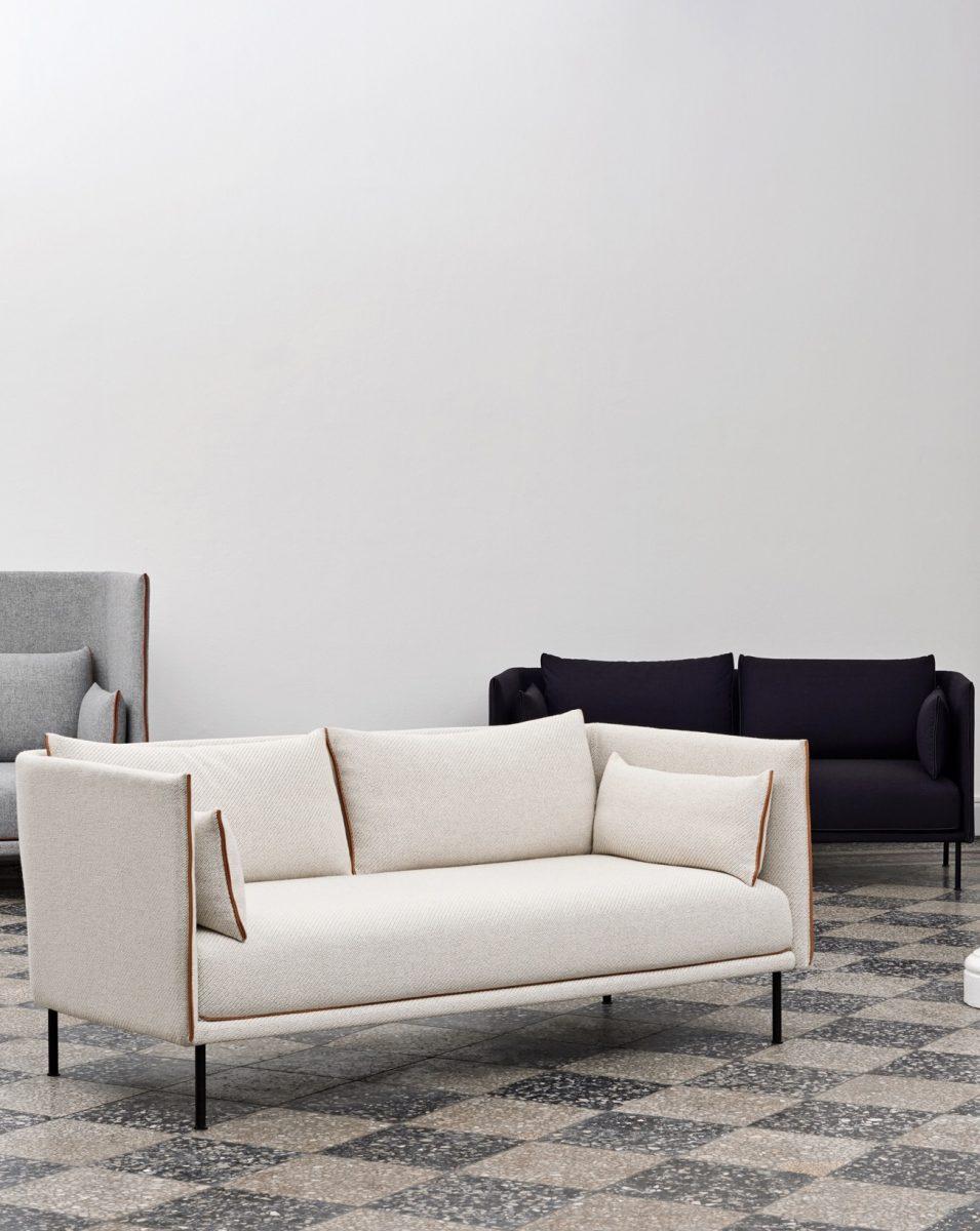 SILHOUETTE Sofa by GamFratesi
