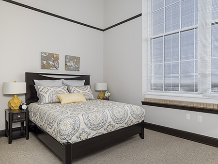 Loft Living Bedroom Design