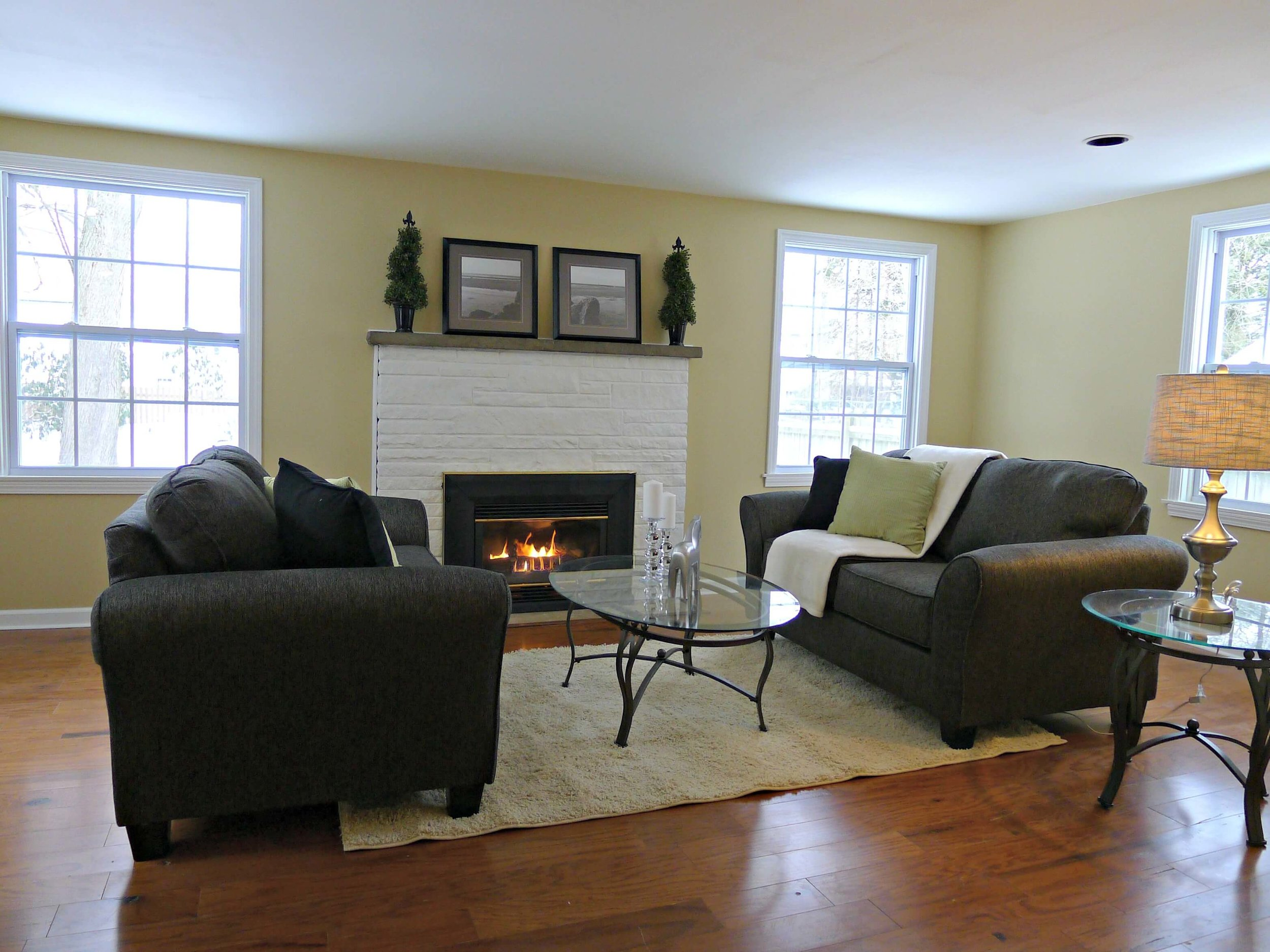 Hamburg Family Room Flipped Home Decor Staging