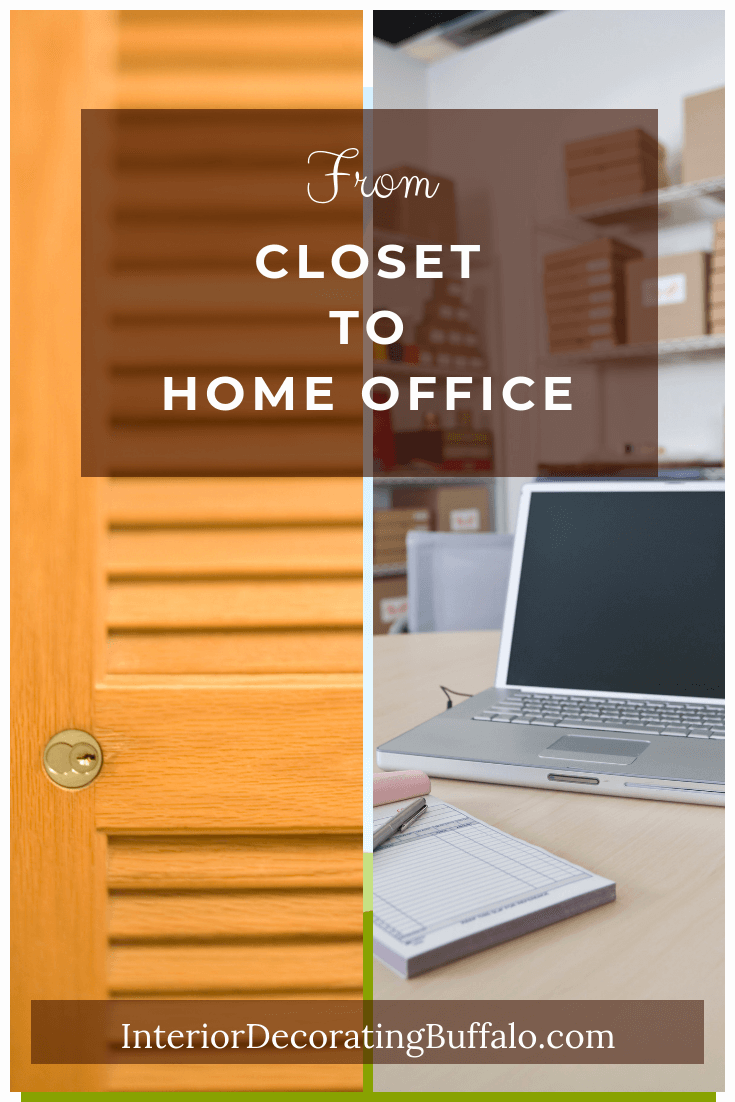 How to Turn a Closet into a Home Office