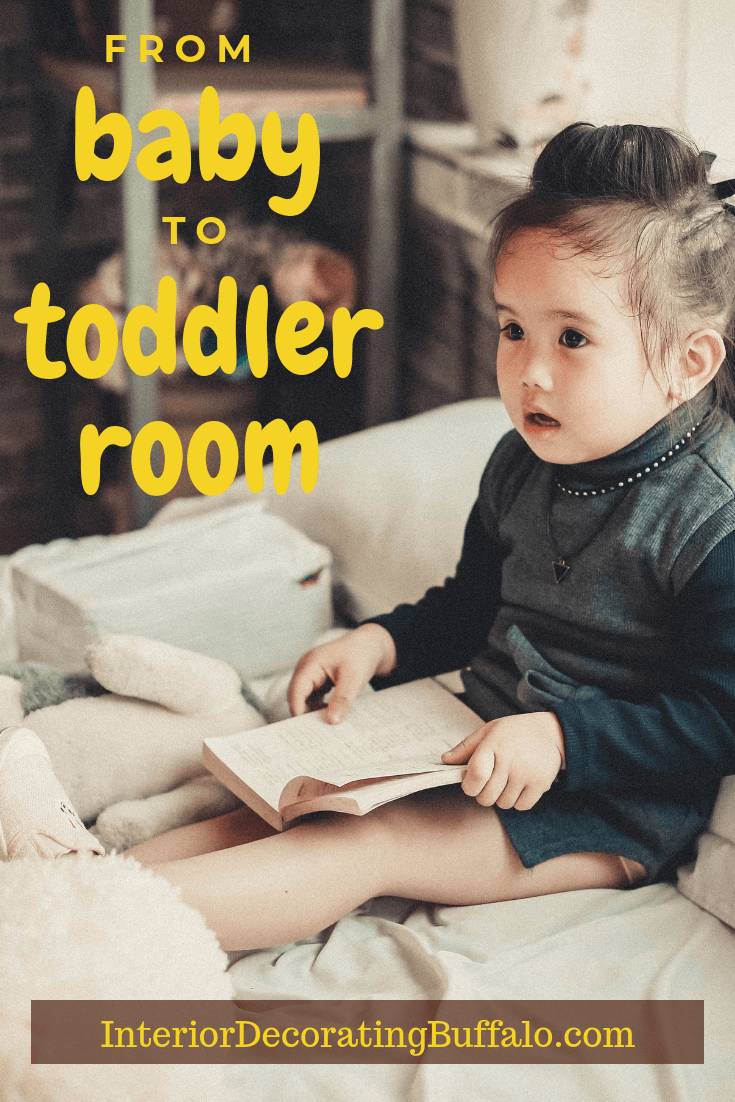 How to Go from Nursery or Baby Bedroom to Toddler Bedroom