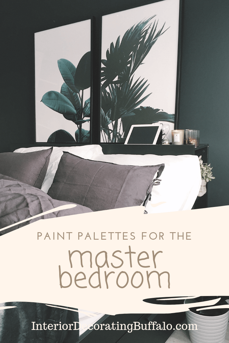 Easy Paint Color Palettes for the Master Bedroom (and Other ...