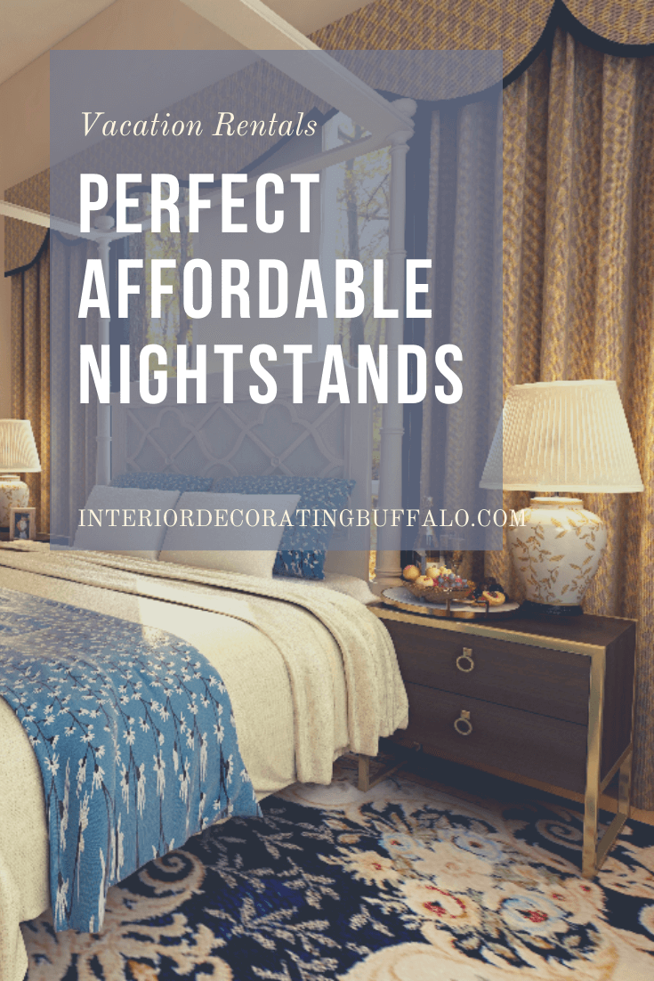 How To Find The Best Affordable Nightstands Transitions Interiors