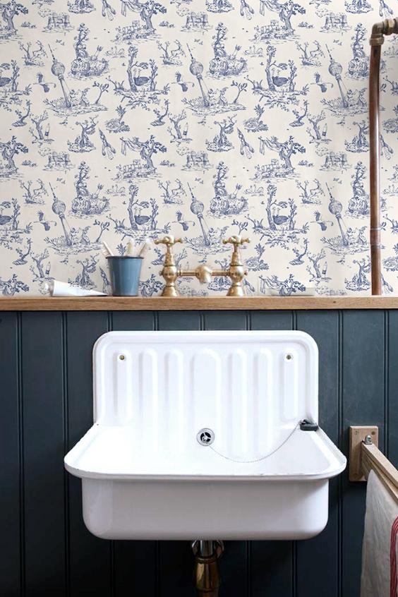Marie de Beaucourt Dystopian toile de Jouy 2017 web bathroom-blue.jpg