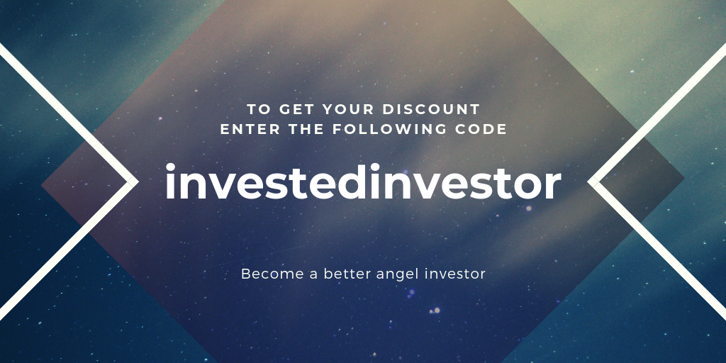 investedinvestor - Use the code above and start becoming an angel investor!