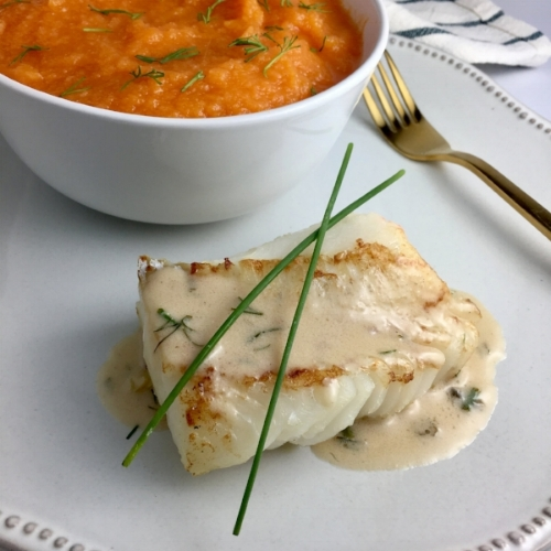 Seared Cod with Lemon & Chive Cream Sauce 1.JPG