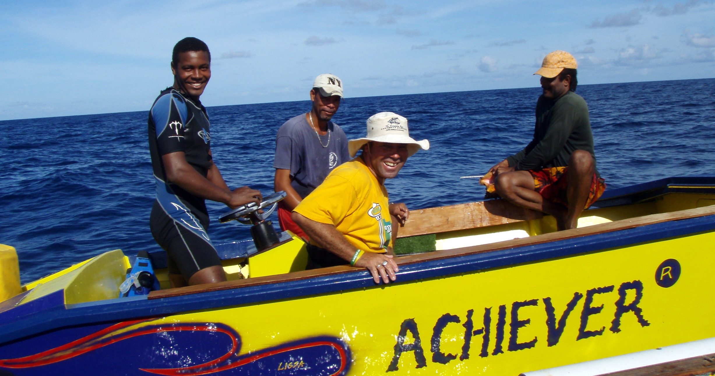 Kim Baldwin engaged fishers across the Grenadines to map their local knowledge of marine habitats, resources, space-uses and fishing grounds as part of her PGIS research.