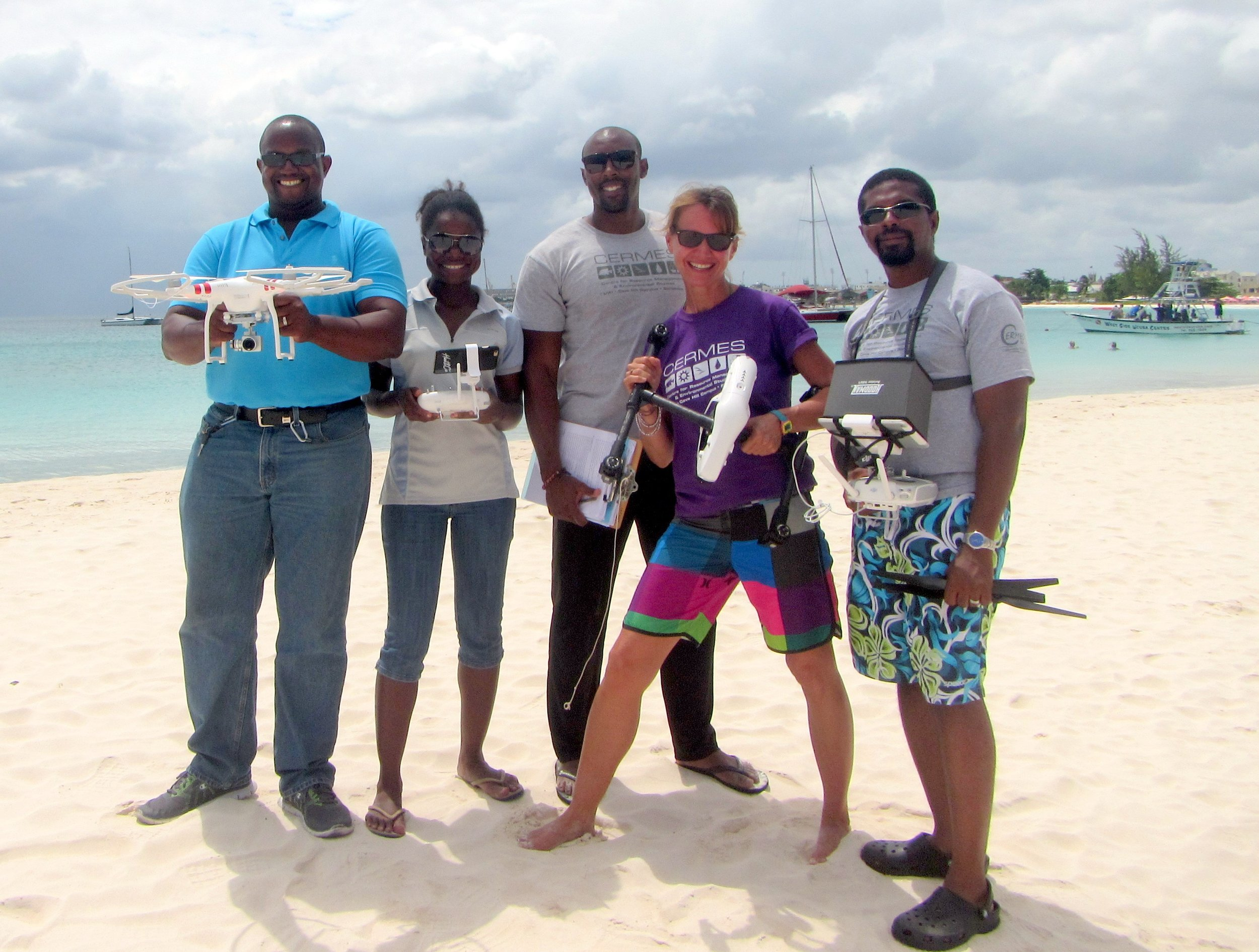 CERMES UWI & Barbados Sea Turtle Project Drone Training, Operations Manual and Data Management Protocol