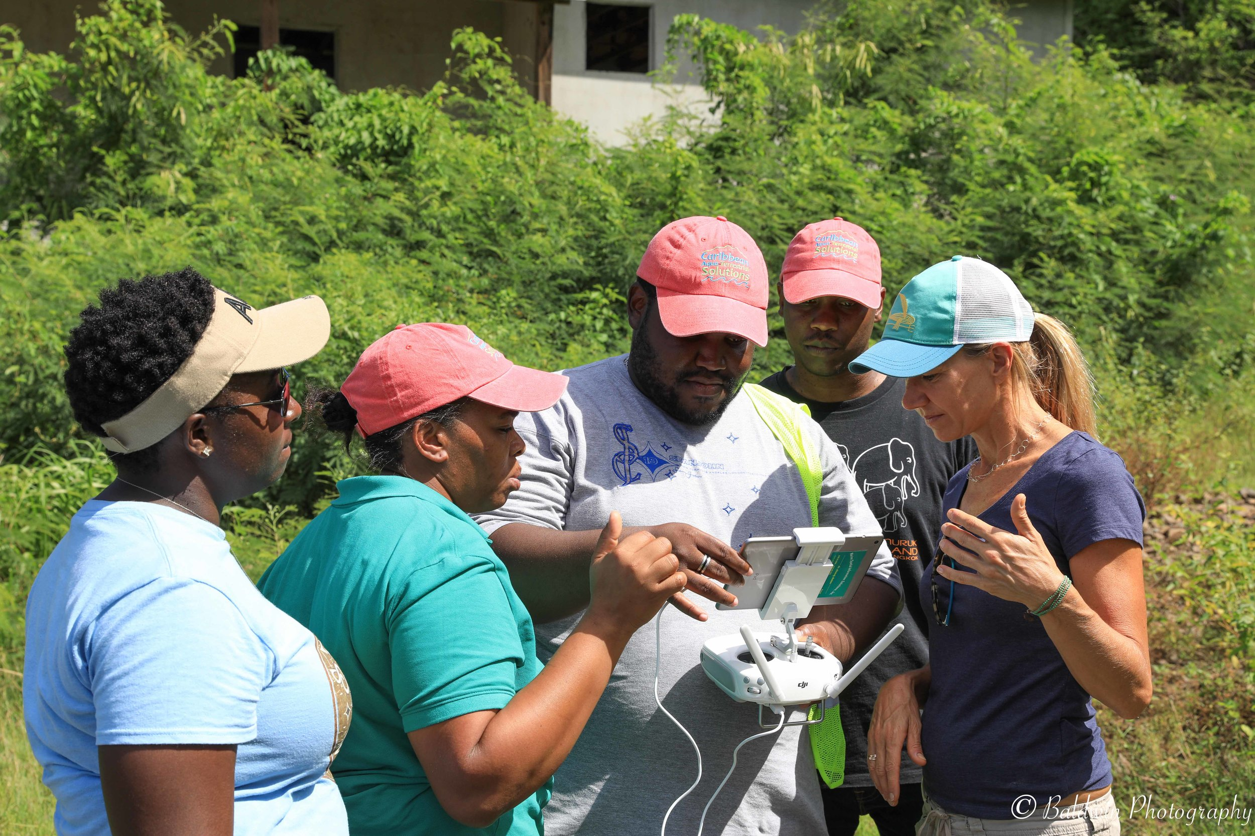St. Lucia Forestry Department CARPHA CATS Drone Training Course, Castries. November 2018.