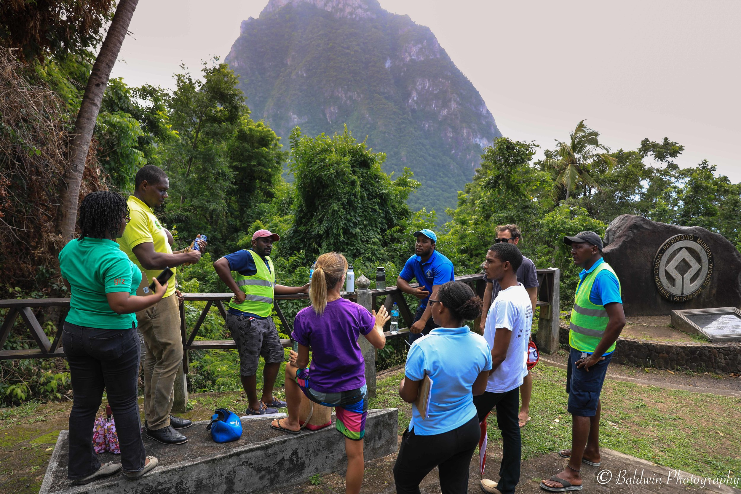 Soufriere, St. Lucia Drone Training Course CARPHA CATS. November 2018.