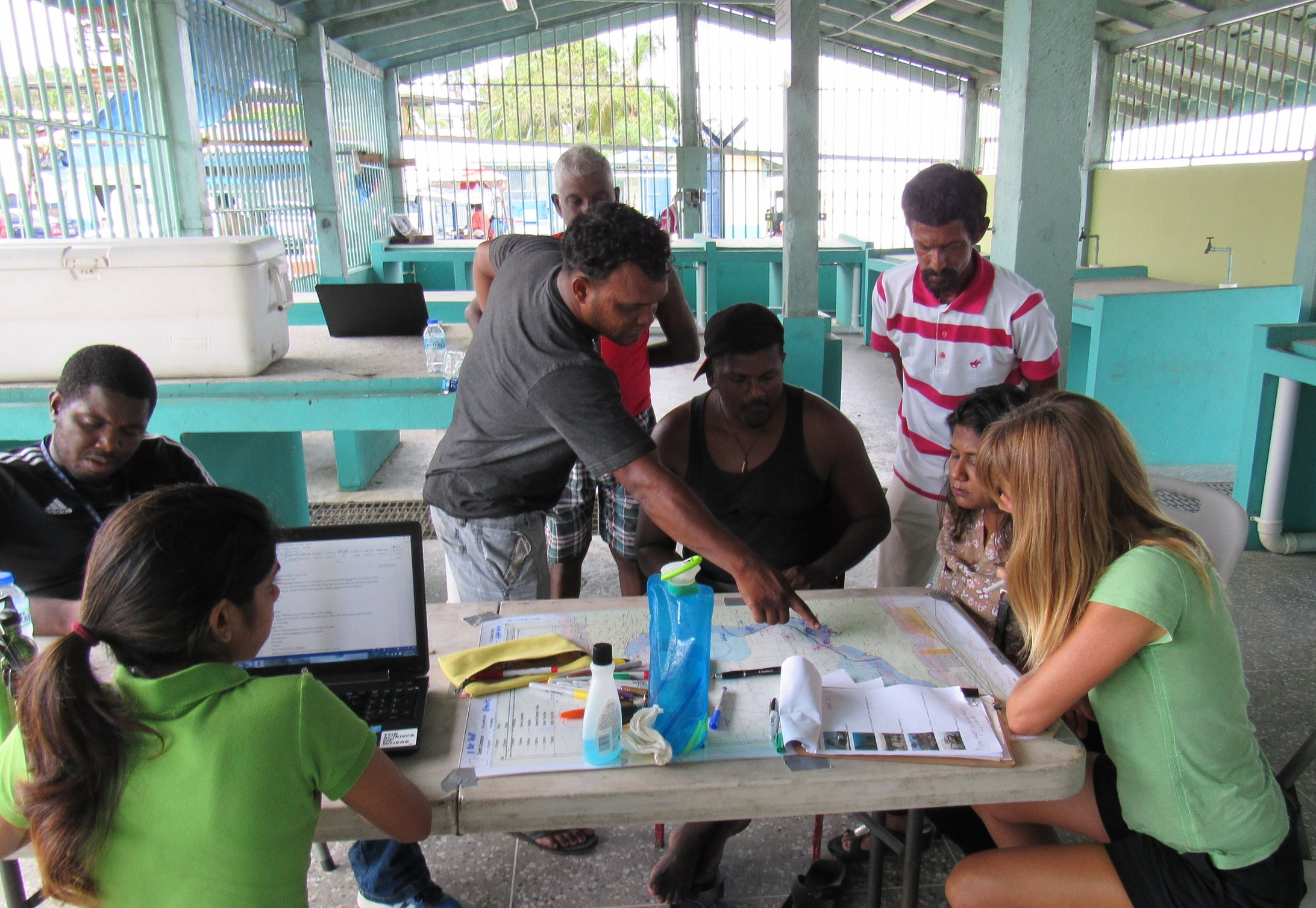 Gulf of Paria, Trinidad Shrimp Resources & Fisheries Mapping Exercises.. October 2018