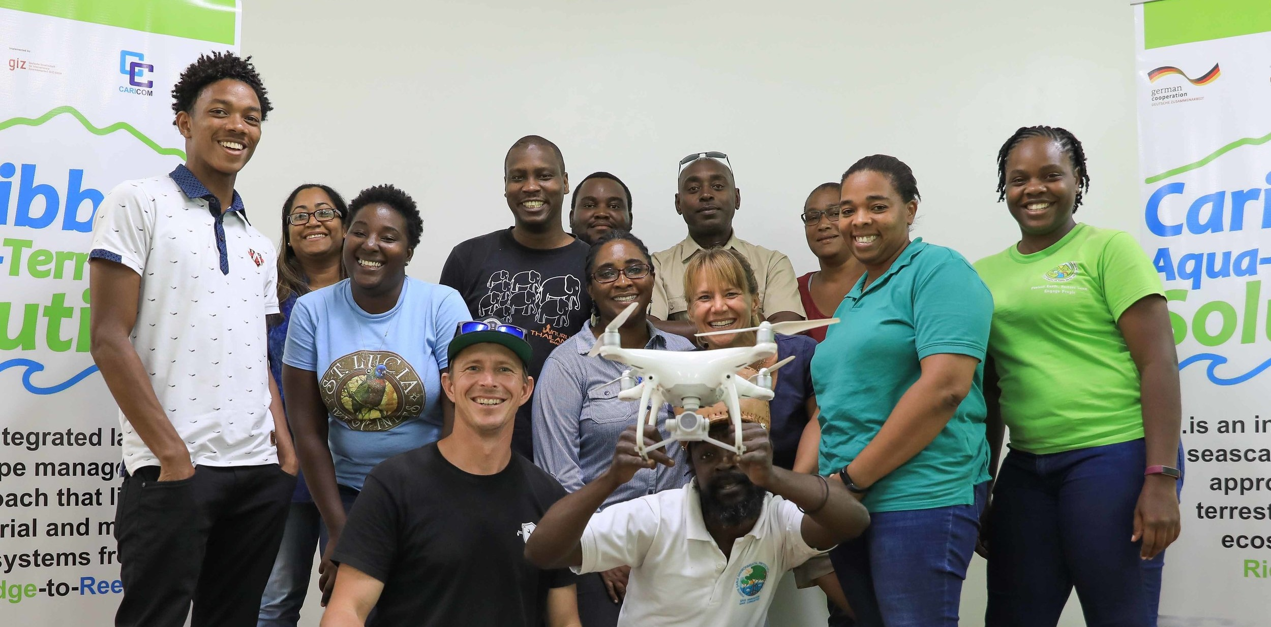 Forestry Department, Castries, St. Lucia. CATS CARPHA Drone Training Course, Nov 2018