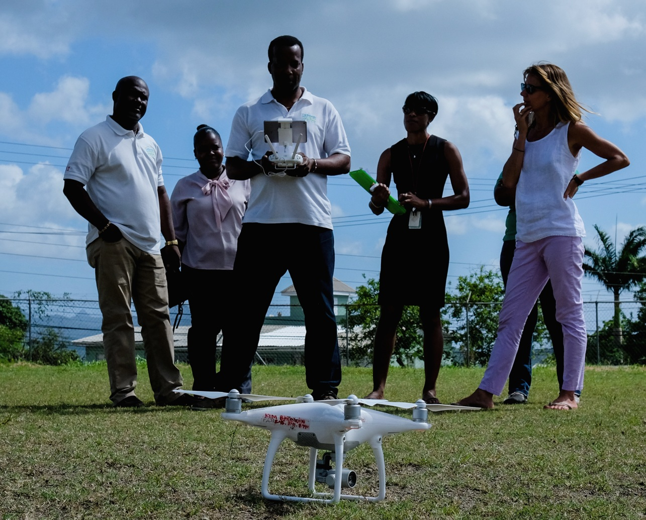 CARPA CATS St Lucia Drone Training Aug 2018
