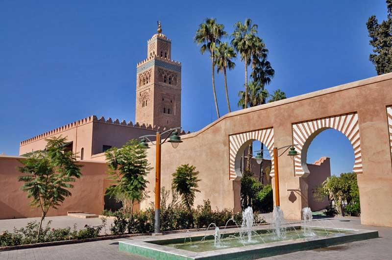 The Koutoubia Mosque and Gardens of Marrakech