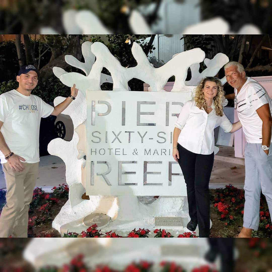 We can not thank Megan Washington & The Pier Sixty Six Hotel & Marina team enough for all of their support and allowing us to stage our reefs on the south marina as an above water sculpture garden!
