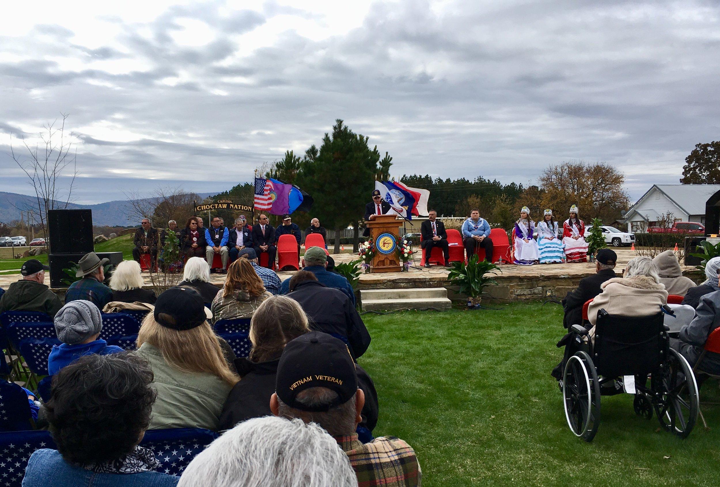 Choctaw Nation Veteran's Day 2017