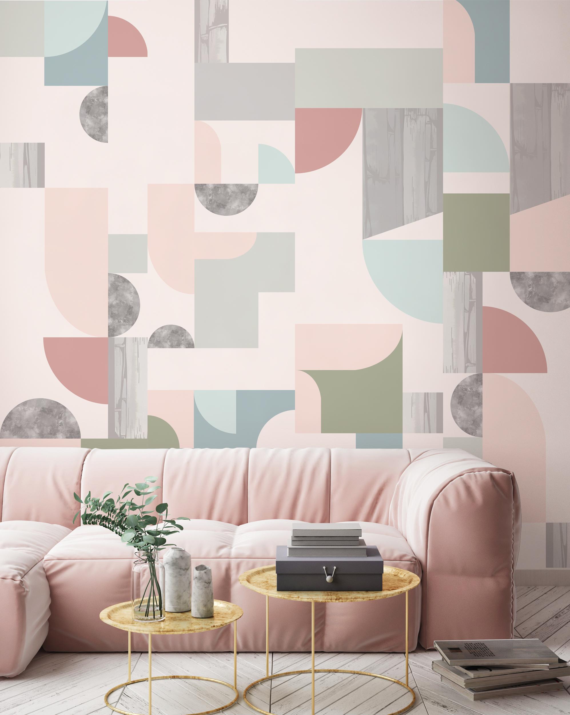 - Halfmoon Wallcovering   Dawn Colourway