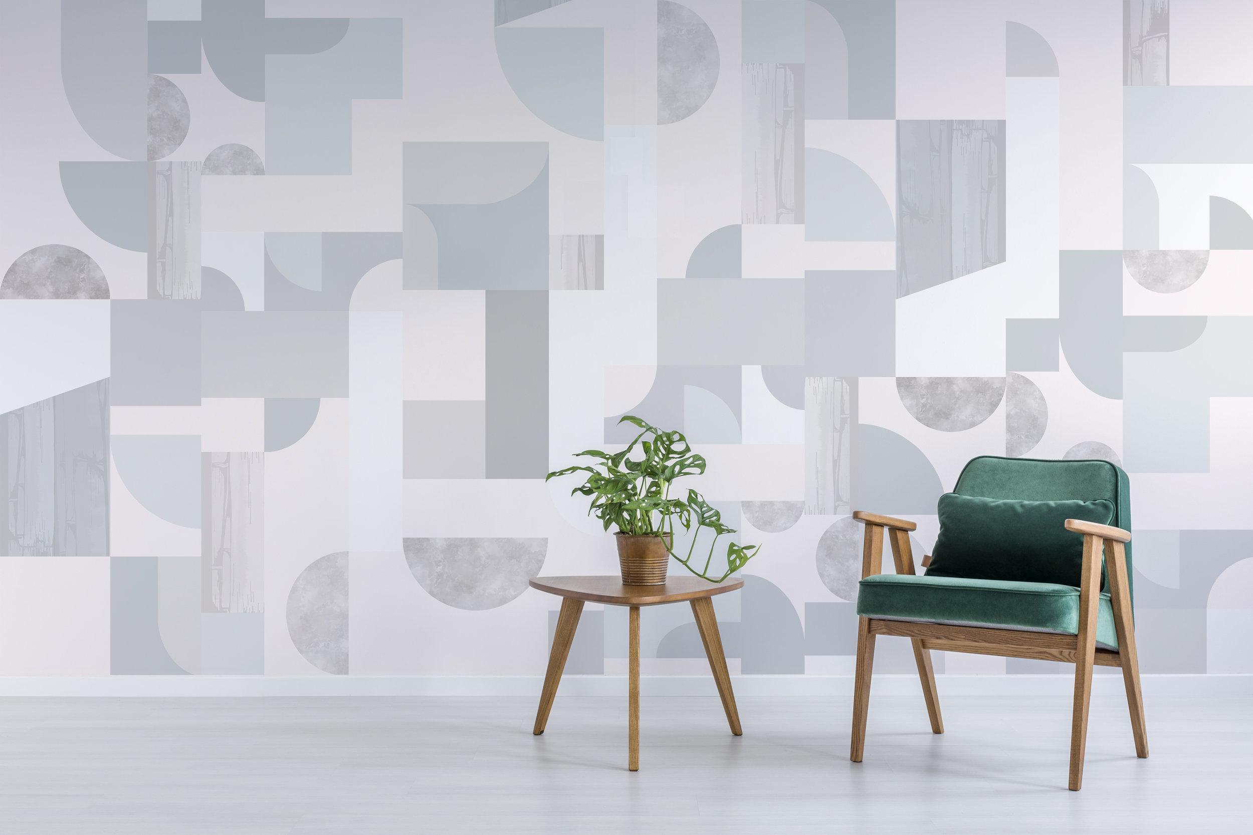 - Halfmoon Wallcovering   Dusk Colourway