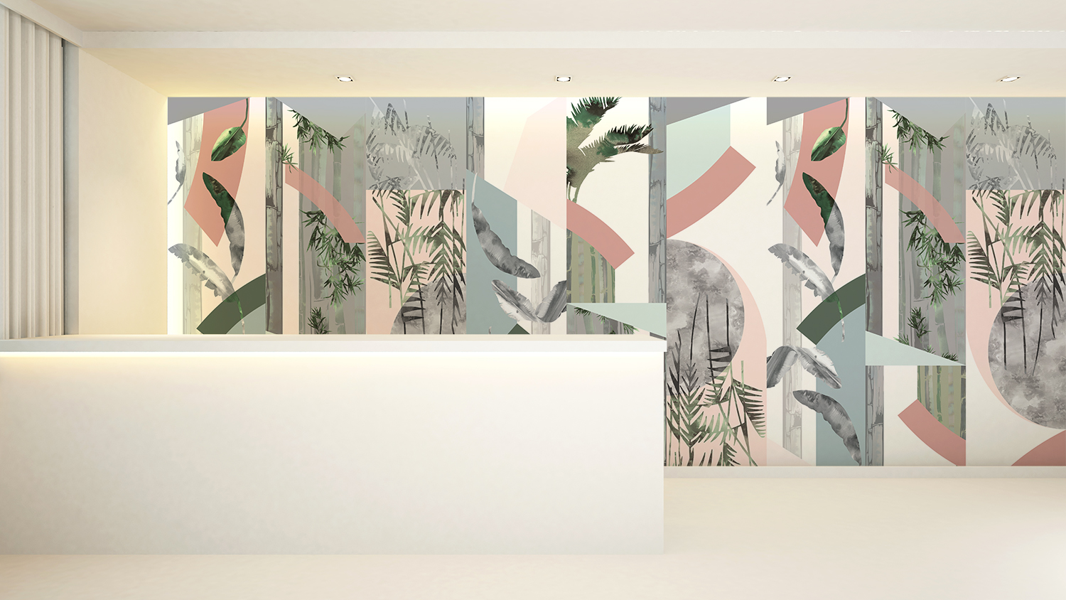 - Rise Wallcovering   Dawn Colourway