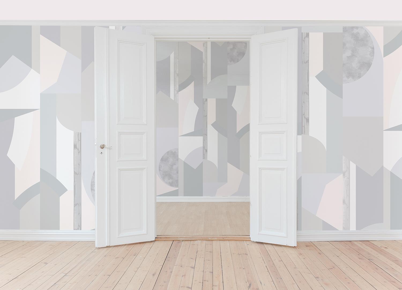 - Foundation Wallcovering, Dusk Colourway