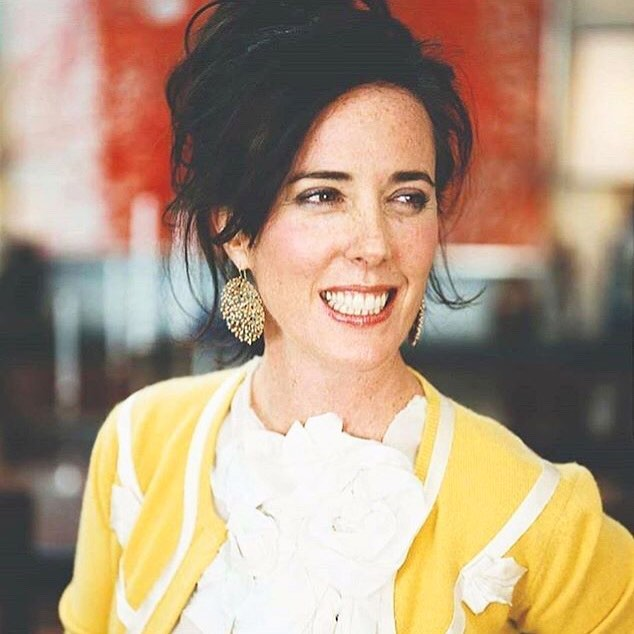 """I hope that people remember me not just as a good businesswoman but as a great friend - and a heck of a lot of fun."" Kate Spade ♠️ ♠️♠️• • • • • #katespade #fashion #icon #restinpeace"