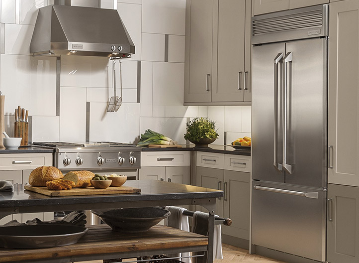 Modern Updates - Monogram Appliances is bring the perfect balance of exceptional craftsmanship, performance, and high-tech appliances to our dated Kitchen. Read the whole blog here!