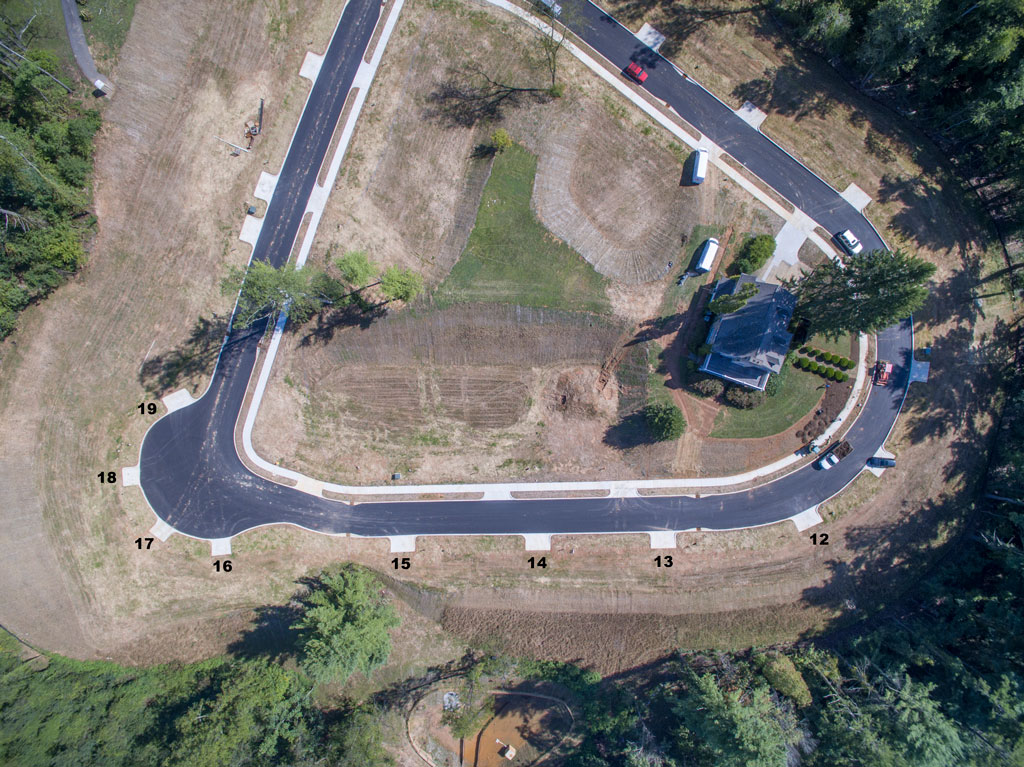 Aerial View of Lot 14