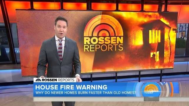 NBC TODAY/ROSSEN REPORTS  TODAY national investigative correspondent Jeff Rossen highlights the many dangers of today's fires.