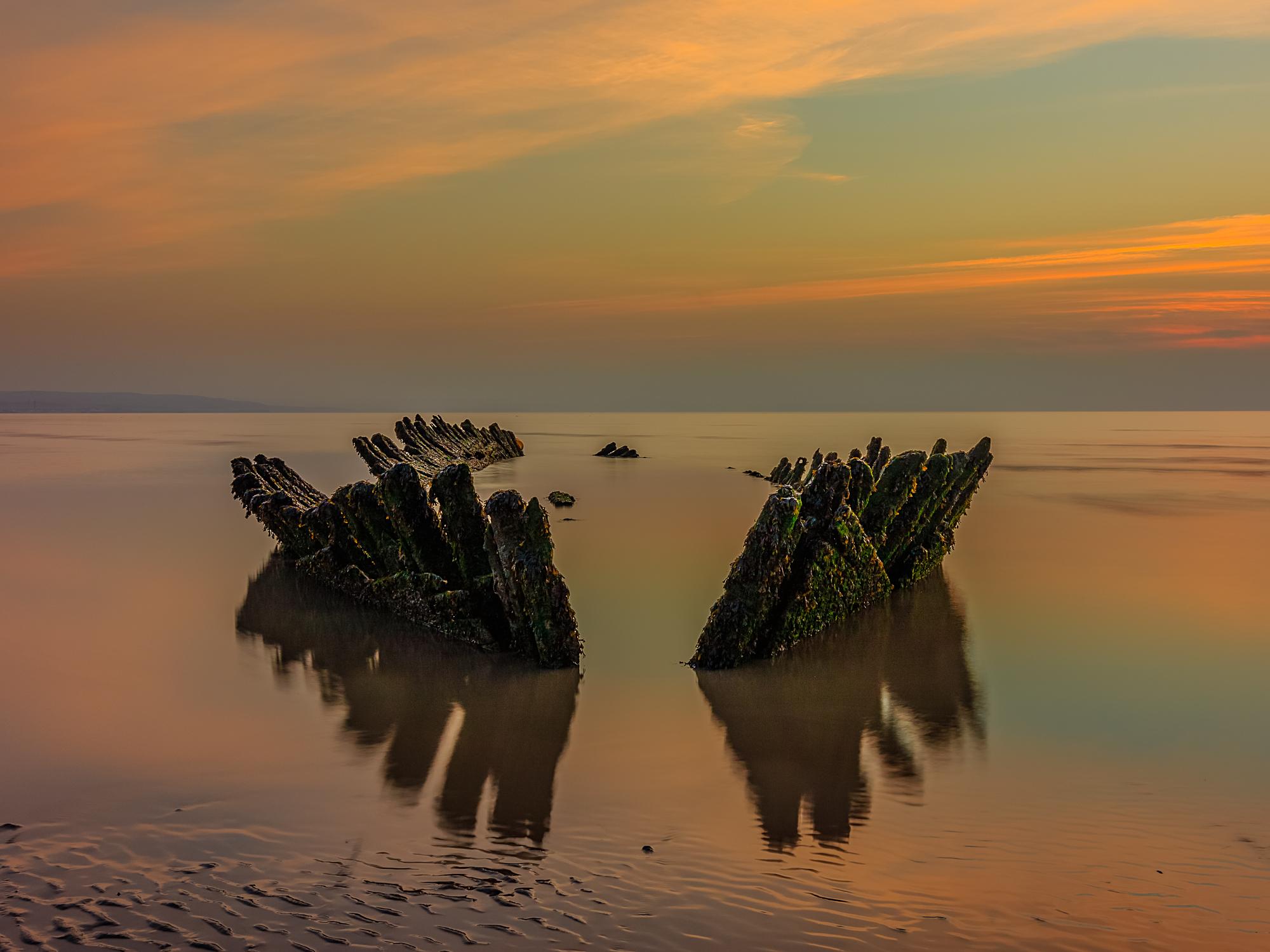 SS Nornen, Berrow beach