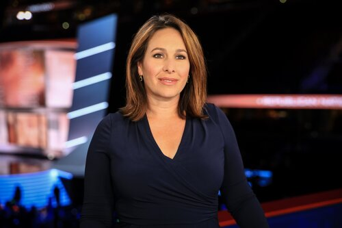 Nancy Cordes, CBS News chief White House correspondent, will emcee the live presentation of the State of the Rivers on May 7, online via Zoom. Photo courtesy of CBS News