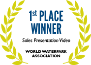 1st Place: Sales Presentation Video, World Waterpark Association