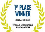 1st Place: Best Media Kit, World Waterpark Association