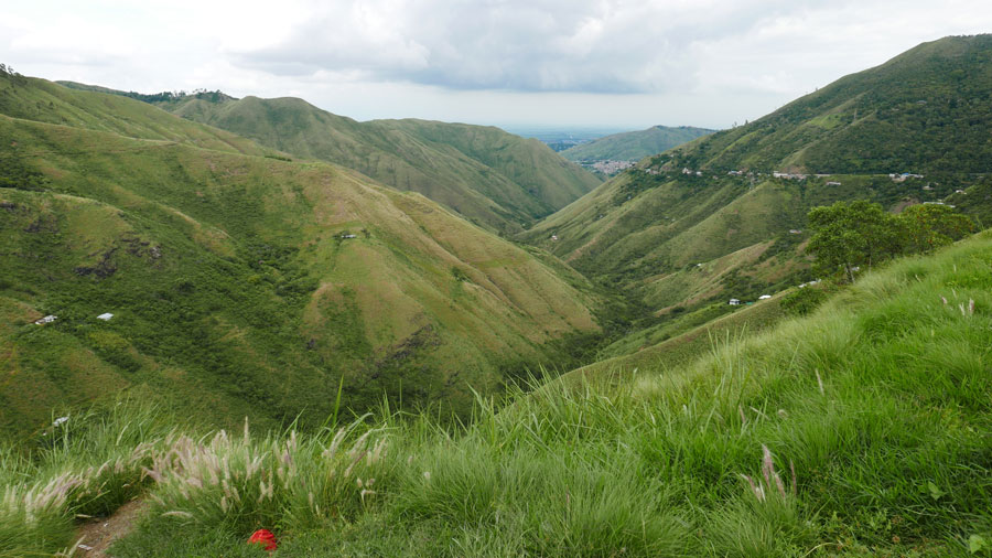 Andes Mountains outside of Cali,Colombia