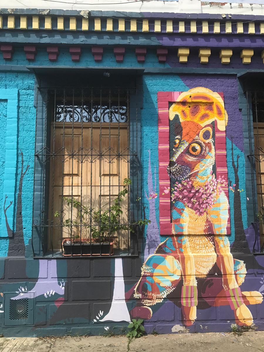 Mural in Barrio San Antonio