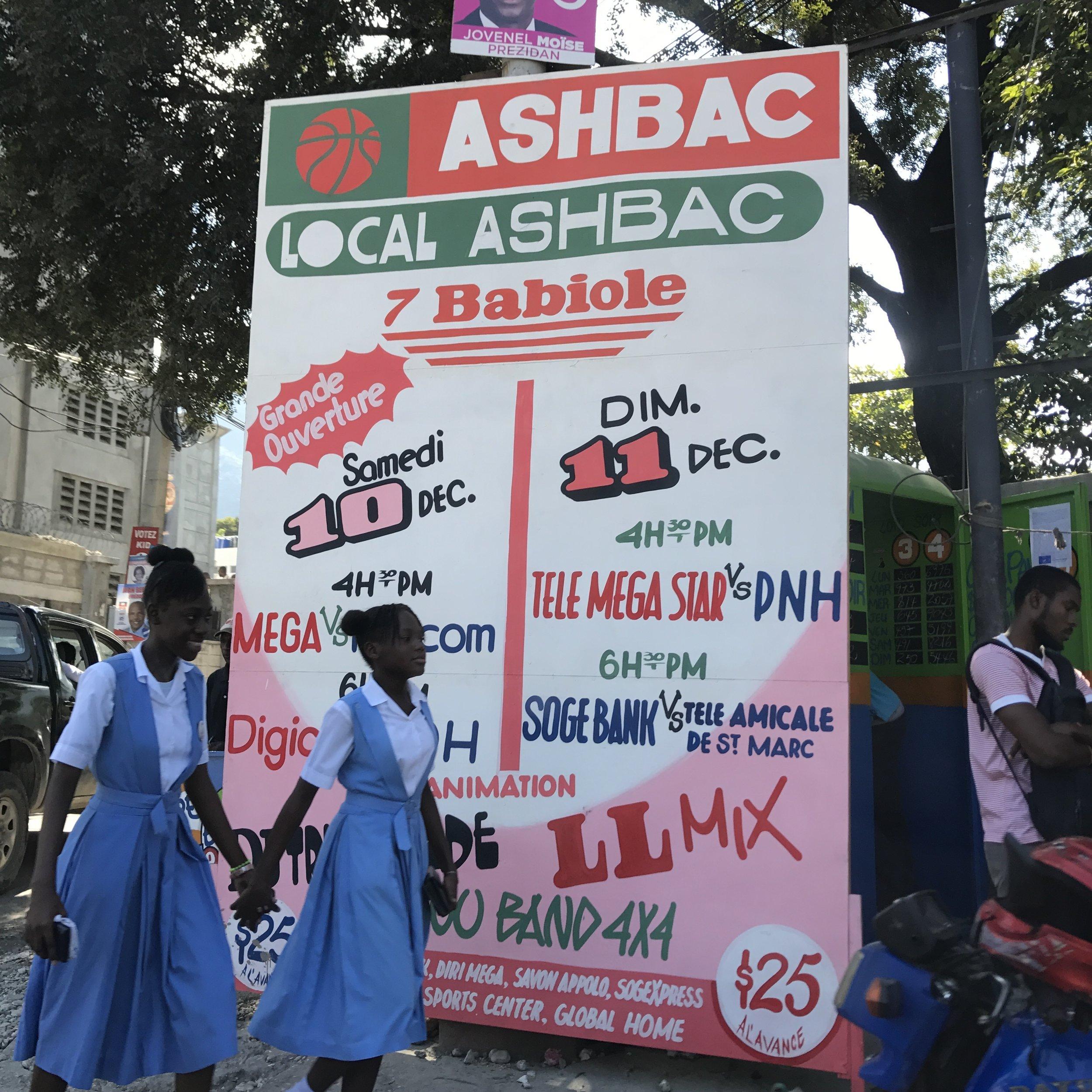 Ashbac is the NBA of Port-au-Prince